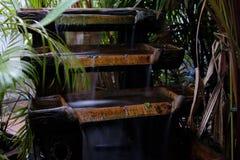 Pouco imita a cachoeira para a decoração home Fotografia de Stock