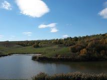 Pouco lago Foto de Stock