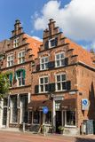 Pouco loja histórica no centro de Haarlem Foto de Stock Royalty Free