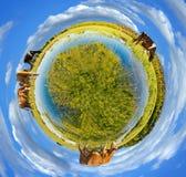 Pouco panorama do planeta Fotografia de Stock