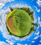 Pouco planeta de um campo Foto de Stock Royalty Free