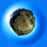 Pouco planeta Meio principal da montagem A comunidade do ` s do Madri spain Fotos de Stock