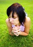 Pouco pray Imagem de Stock