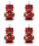 Pouco robô Imagens de Stock
