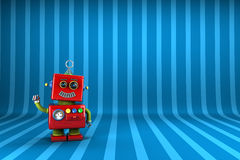 Pouco robô Imagem de Stock Royalty Free
