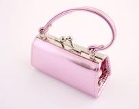 Pouco saco cor-de-rosa Imagens de Stock Royalty Free