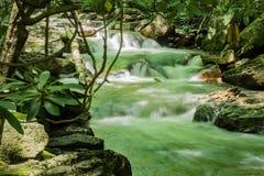 Pouco Stony Creek, Giles County, Virgínia, EUA fotografia de stock