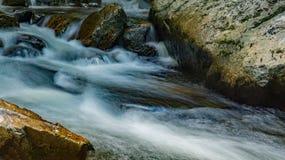 Pouco Stony Creek um córrego de conexão em cascata da montanha foto de stock royalty free