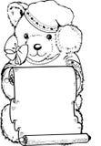 Pouco urso Foto de Stock