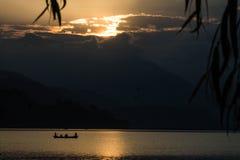 Poucos, lago Foto de Stock Royalty Free