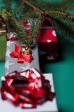 Poucos presentes de Natal Fotos de Stock