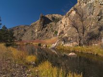 Poudre Canyon November Stock Photos