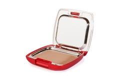 Poudre cosmétique compacte photos libres de droits