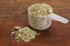 Poudre d'algue de varech Photographie stock