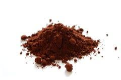 Poudre de cacao Images stock