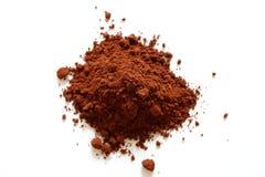 Poudre de cacao Photographie stock