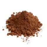 Poudre de cacao Photographie stock libre de droits