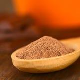 Poudre de cacao Photos stock