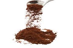 Poudre de cacao Photos libres de droits