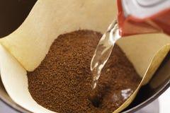 Poudre de café Photographie stock libre de droits
