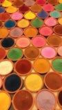 Poudre de couleur Photo libre de droits
