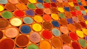 Poudre de couleur Images stock