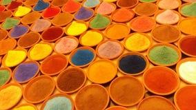 Poudre de couleur Photo stock