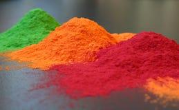 Poudre de couleur Photos stock