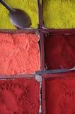 Poudre de couleur Photographie stock libre de droits