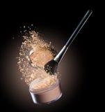 Poudre de maquillage photos libres de droits