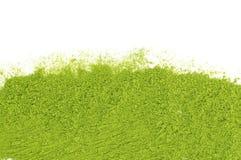 Poudre de matcha de thé vert Image libre de droits