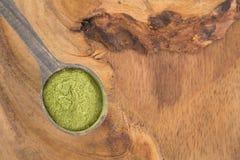 Poudre de Moringa - moringa oleifera Photos libres de droits