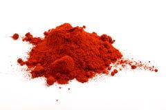 Poudre de paprika Photographie stock libre de droits