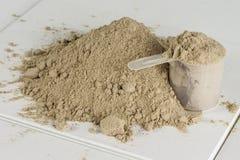 Poudre 2 de protéine Images stock