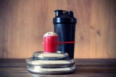 Poudre de protéine de lactalbumine image libre de droits
