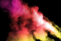 Poudre distribuée Image stock