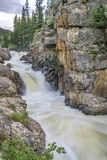 Poudre Falls at high water Stock Photography