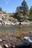 Poudre Fluss Kolorado Lizenzfreie Stockfotos
