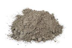 Poudre grise de ciment photographie stock libre de droits