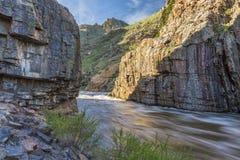 Poudre River Canyon Stock Photos
