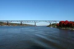 Poughkeepsie Bridge Royalty Free Stock Photo
