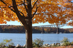 Poughkeepsie Railroad Bridge Stock Image