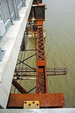 Poughkeepsie Railroad Bridge Royalty Free Stock Image