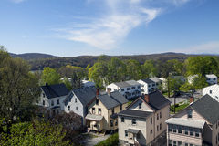 PoughKeepsie. Residential homes in the town of Poughkeepsie New York stock photo