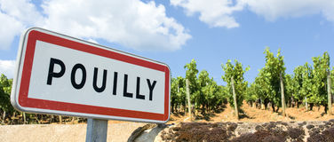 Pouilly Royalty Free Stock Image