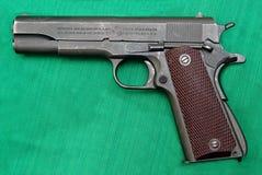 Poulain M1911A1 de pistolet Images stock