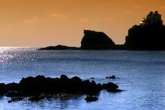 Pouldu van Bretagne Royalty-vrije Stock Foto