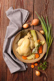Poule au pot Royalty Free Stock Photo