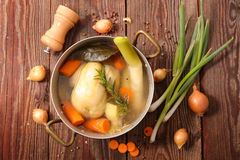 Poule au pot Royalty Free Stock Photos