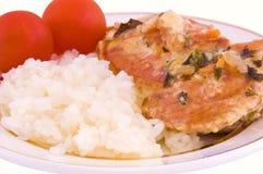Poule cuite Images stock